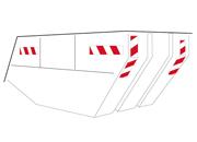 Containerwarnmarkierung