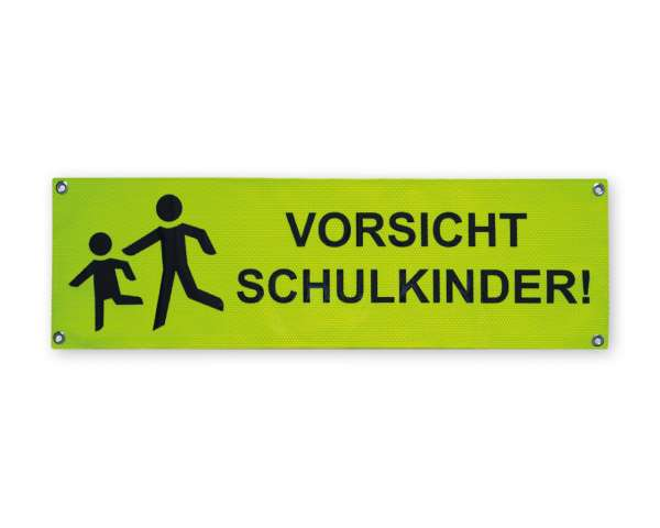 Reflexbanner-Vorsicht-Schulkinder-1000x300mmT2FL