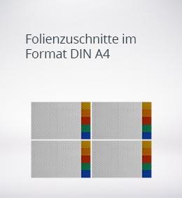 reflecto-Folienzuschnitt-DIN-A4